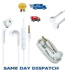 3.5mm Earphone Double Earpiece Headset W/Mic For Huawei Y3 Y5 Y6 Y7 Y9 Prime Pro