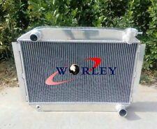 56MM UP TO 700HP CHEVY CORVETTE 350 V8 M/T 1955-1960 1956 1957 ALUMINUM RADIATOR