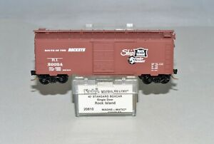 "N Scale Kadee MTL 20610 ""ROUTE OF THE ROCKETS"" 40' Standard Boxcar Single Door"