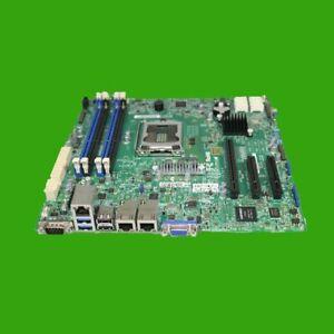 Mainboard Supermicro X10SLH-F Sockel 1150 Server Motherboard Gehäuseblende