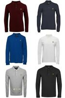 BRAND NEW LYLE AND SCOTT LONG SLEEVE POLO SHIRT FOR MEN!!