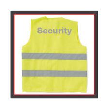 Warnweste Security - Messe - Veranstaltungen Sicherheit