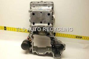 10 11 12 13 BMW 550I GT OIL PAN 4.4L TWIN TURBO RWD UPPER 11137621070