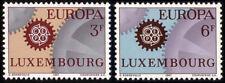Luxembourg 1967 Mi 748-49 ** Europa Cept