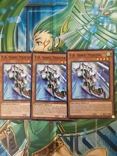 3X F.A. Sonic Meister MP18-EN091 Common 1ST Edition NM Yugioh!
