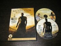 Gladiator DVD Russell Crowe Joaquin Phoenix Connie Nielsen Oliver Reed