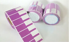 Network Cable Labels Sticker 1000 Purple Waterproof Tearproof free shipping