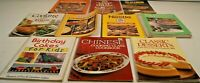 Lot of 10 Spiral Bound Cookbooks Quaker Betty Crocker Nestle Velveeta Crisco Kid