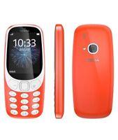 New NOKIA 3310 ORANG Dual SIM Unlocked Sim Free 2MP Camera Retro-Fantastic Phone
