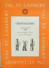 LIVRE : VAL SAINT LAMBERT ( ST VSL) 1908  (vaas,glas,karaf …)