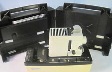Dukane Micromatic II 28A81B 35mm Sound Filmstrip Projector with Case + Manual