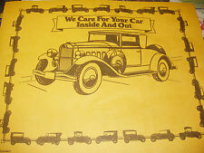 "Disposable Floor Mats 14"" x 18"" Antique Vintage Classic Collector Car  100 pcs."