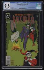 Batman Adventures #28 CGC 9.6 W Pgs Harley Quinn Joker Appearance DC