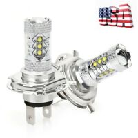 SUZUKI KING QUAD 400 500 750 HIGH POWER 80W HEADLIGHT LED LIGHT BULBS 6K WHITE