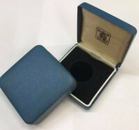 Royal Mint Blue and Red Box for Silver Proof £1 Coin, empty + 4/5 Coin Boxs