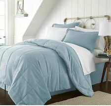 COMFORTER SOLID 100% EGYPTIAN COTTON ALL SIZE AVAILABLE IN AQUA BLUE COLOR