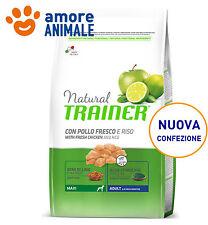 Trainer Natural Adult Maxi Manzo e Riso 12 kg (ex 12,5 Kg) Crocchette cane cani