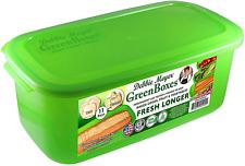 Green Boxes Bread Box Goods Snacks Fruits Vegetables Fresh Longer Reusable Food