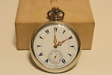 ANTIQUE RARE NICE COLLECTIBLE SWISS 50mm POCKET WATCH MADE FOR OTTOMAN EMPIRE