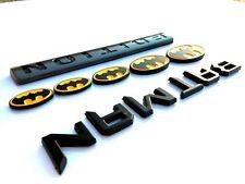 BATMAN FAMILY EDITION Molding Emblem car plymouth logo TRUCK decal SUV SIGN 01