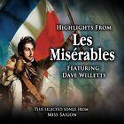 Les Miserables - Dave Willetts - CD - BRAND NEW SEALED SOUNDTRACK