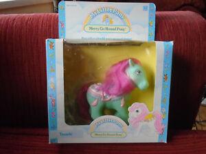 My Little Pony vintage G1 Tassels Merry Go Round Pony boxed with brush