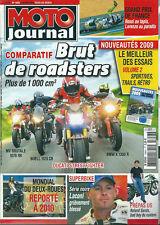 Moto journal # 1858 MV Brutale Laconi GP France Buell 1125 BMW 1300 Rossi Laconi