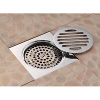Stainless Steel Square Anti-odor Bathroom Floor Drain Shower for 50~75mm #4