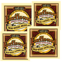 Ernie Ball Earthwood Silk and Steel For Acoustic Guitar Strings All Gauges