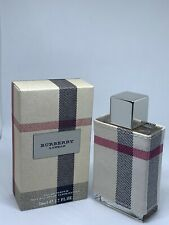 Burberry London Fabric Perfume 1.7 oz Eau De Parfum Spray For Women New in box