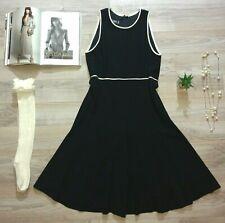 Vintage Escada Sheath Dress Margaretha Ley New Wool Black Classic LBD 36 VTG S