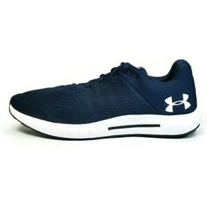 Under Armour Men's UA Micro G Pursuit 3000011-402 Navy running shoes Size 10.5