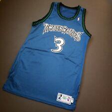 Stephon Marbury Vintage Starter Wolves Pro Cut Jersey Size 40 M L Mens