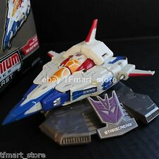 "Transformers Titanium 6"" Series Cybertron Starscream Diecast by Hasbro"