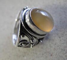 Russian Soviet Women's Silver Ring Carnelian stone sz 6.5 Кольцо Сердолик