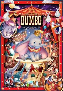 Tenyo Japan Jigsaw Puzzle D1000-040 Disney Dumbo Circus (1000 Pieces)