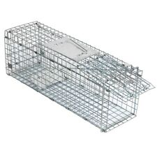 "Live Animal Trap Extra Large Rodent Cage Garden Rabbit Raccoon Cat 24""X8""X 7.5"""