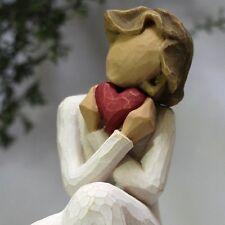 ANGEL statue ALWAYS red heart love Gift WILLOW TREE figure Shower Birthday gift
