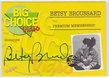 2017 Upper Deck UD Clerks Big Choice Video Betsy Broussard Auto  Skybox