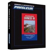 Pimsleur Learn/Speak CHINESE MANDARIN Language Level 4 CDs NEW!!