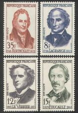 France 1958 French Scientists/Famous People/Science/Astronomy 4v set (n39362)