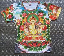 White Tara tipet nepal Buda religión tatuaje Designer Star VIP tipo t-shirt g.s