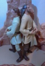 Star Wars Jedi Loose Lot Episode 1 Deluxe Obi-Wan And Qui-Gon Tpm 1998 Figures