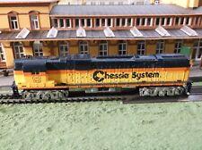 Tyco C & O Lighted Chessie Diesel Railroad Train Track Set Engine Parts Restore
