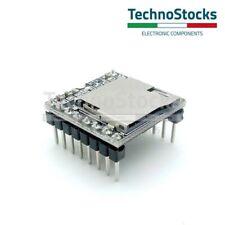 DFPlayer Mini MP3 Player Riproduttore Audio micro SD card Sound module Arduino