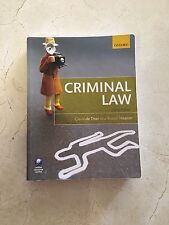 Oxford Criminal Law 4th Edition Textbook
