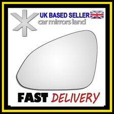 Left Passenger Wing Car Mirror Glass Replacement Vauxhall Insignia 2008-2016