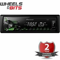 Pioneer MVH-190UBG Mechless MP3 Car Stereo WMA FLAC USB Aux In RDS Tuner Android