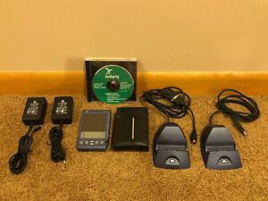 Handspring Visor Prism•PC and Mac charging cradles•case•2 power adapters•CDRom
