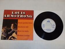 LOUIS ARMSTRONG Royal Garden Blues/ Blueberry Hill 1977 France EP CBS ESP 12058